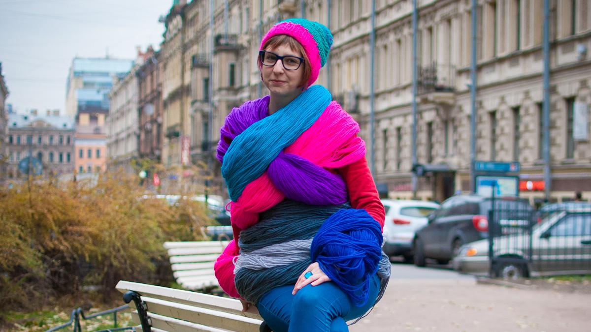 Яркий фотосет дизайнера PLAUKNITS Катерины Пласьки