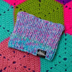 Пастельно-разноцветная повязка для дред Литл