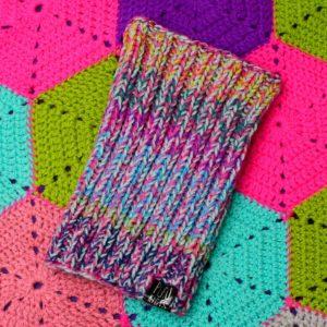 Разноцветная повязка для дред