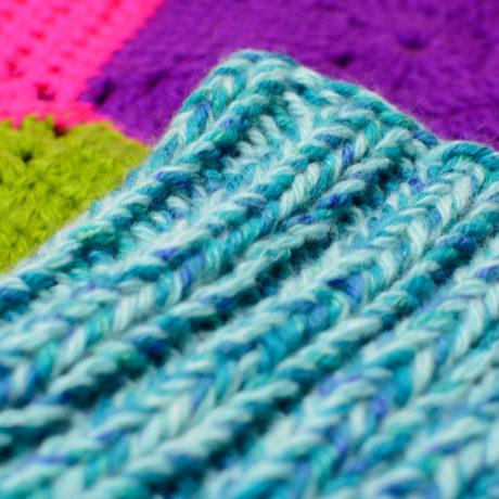 Сине-голубая дредошапка повязка для дред Литл